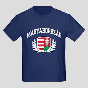 Magyarorszag Kids Dark T-Shirt