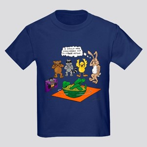 Tortoise and the Hare Revisited Kids Dark T-Shirt