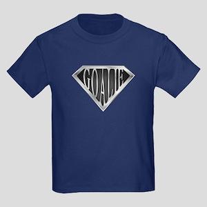 SuperGoalie(metal) Kids Dark T-Shirt
