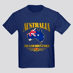 """Land Down Under"" Kids Dark T-Shirt"