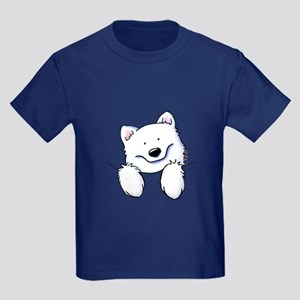 Pocket Eski Kids Dark T-Shirt