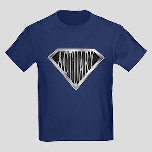 SuperActuary(metal) Kids Dark T-Shirt
