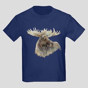 Proud Bull Moose Kids Dark T-Shirt