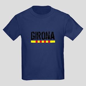 Catalunya: Girona Kids Dark T-Shirt