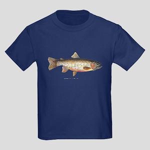 Colorado River Cutthroat Trout Kids Dark T-Shirt