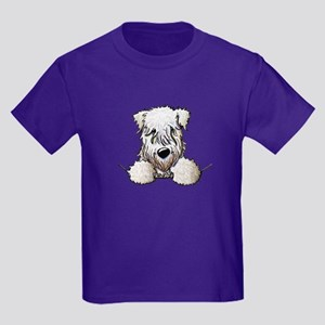 SC Wheaten Pocket Kids Dark T-Shirt