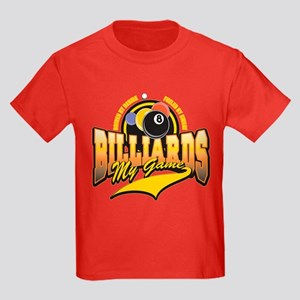 Billiards My Game Kids Dark T-Shirt