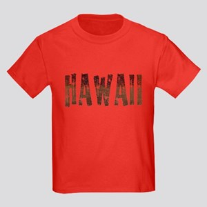 Hawaii Stars and Coffee Kids Dark T-Shirt