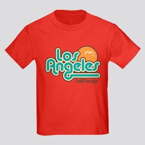Los Angeles California Kids Dark T-Shirt