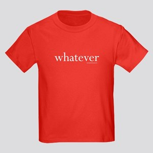 whatever - Kids Dark T-Shirt