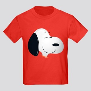 Peanuts Snoopy Emoji Kids Dark T-Shirt