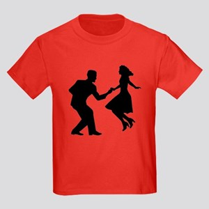 Swing dancing Kids Dark T-Shirt