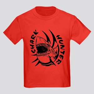 SHARK HUNTER Kids Dark T-Shirt