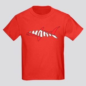 Shark Diver Kids Dark T-Shirt