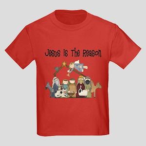 Jesus is the Reason Kids Dark T-Shirt
