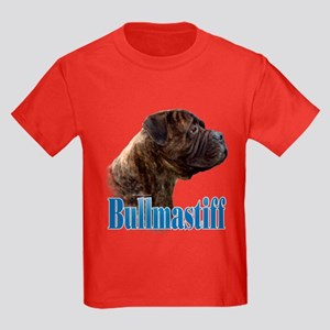 Bullmastiff(brindle)Name Kids Dark T-Shirt