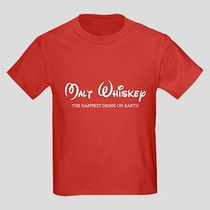 Malt Whiskey Kids Dark T-Shirt