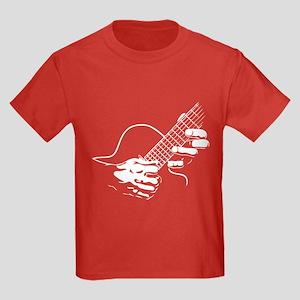 Guitar Hands II Kids Dark T-Shirt