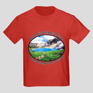 Olympic National Park Kids Dark T-Shirt