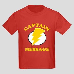 Personalized Super Hero Kids Dark T-Shirt