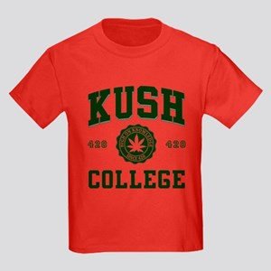 KUSH COLLEGE-2 Kids Dark T-Shirt