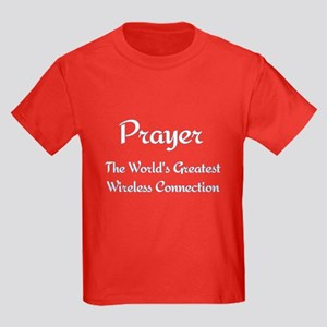 Prayer - World's Greatest Wir Kids Dark T-Shirt
