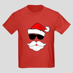 Cool Santa Claus Kids Dark T-Shirt