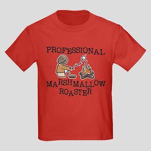Professional Marshmallow Roaster Kids Dark T-Shirt
