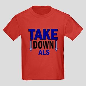 Take Down ALS 1 Kids Dark T-Shirt