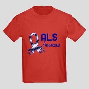 ALS Awareness Kids Dark T-Shirt