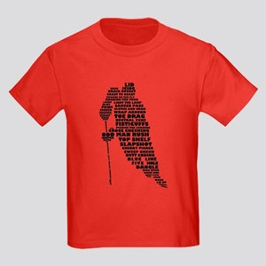 Language of Hockey (skater) T-Shirt
