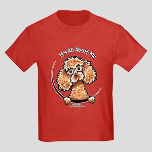 Apricot Poodle IAAM Kids Dark T-Shirt
