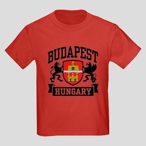 Budapest Hungary Kids Dark T-Shirt