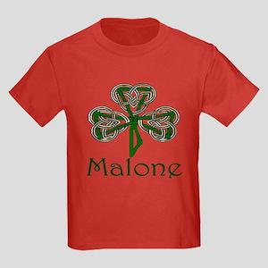 Malone Shamrock Kids Dark T-Shirt
