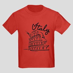 Italy Kids Dark T-Shirt