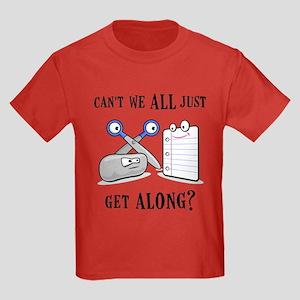 """Rock-Paper-Scissors"" Kids Dark T-Shirt"
