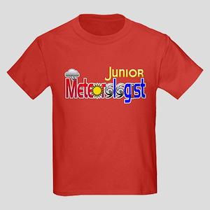 Junior Meteorologist Kids Dark T-Shirt