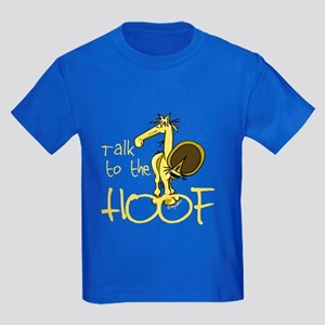 Talk to the Hoof Kids Dark T-Shirt