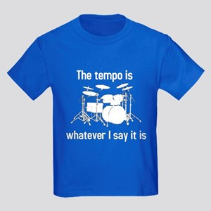 The tempo is Kids Dark T-Shirt