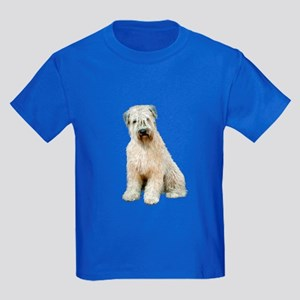 Wheaten (sit) Kids Dark T-Shirt