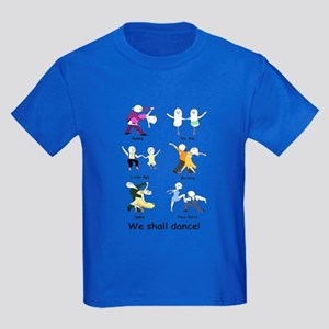 Ballroom Dancers Kids Dark T-Shirt