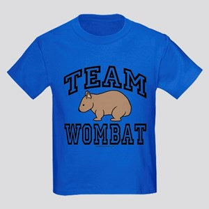 Kids Team Wombat Tee-Shirt Dark
