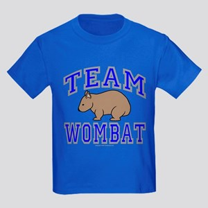 Team Wombat II Kids Dark T-Shirt
