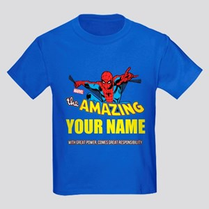 8e28a28d The Amazing Spider-man Personali Kids Dark T-Shirt