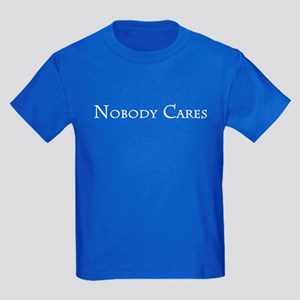Nobody Cares Kids Dark T-Shirt