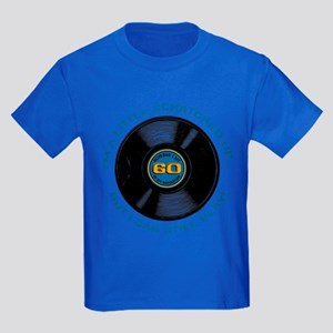 Scratched Record 60th Birthday Kids Dark T-Shirt