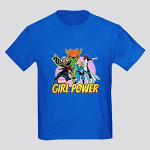 Marvel Girl Power Kids Dark T-Shirt