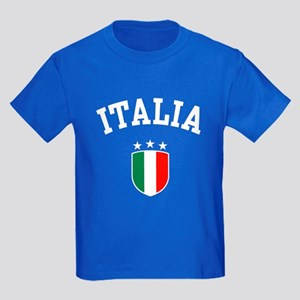 Italia Kids Dark T-Shirt