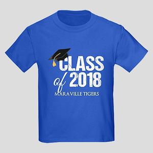 Class of 2018 Custom Kids Dark T-Shirt