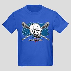 Lacrosse Attitude Kids Dark T-Shirt